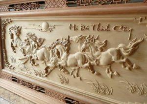 Máy cnc khắc cắt hoa văn trên gỗ