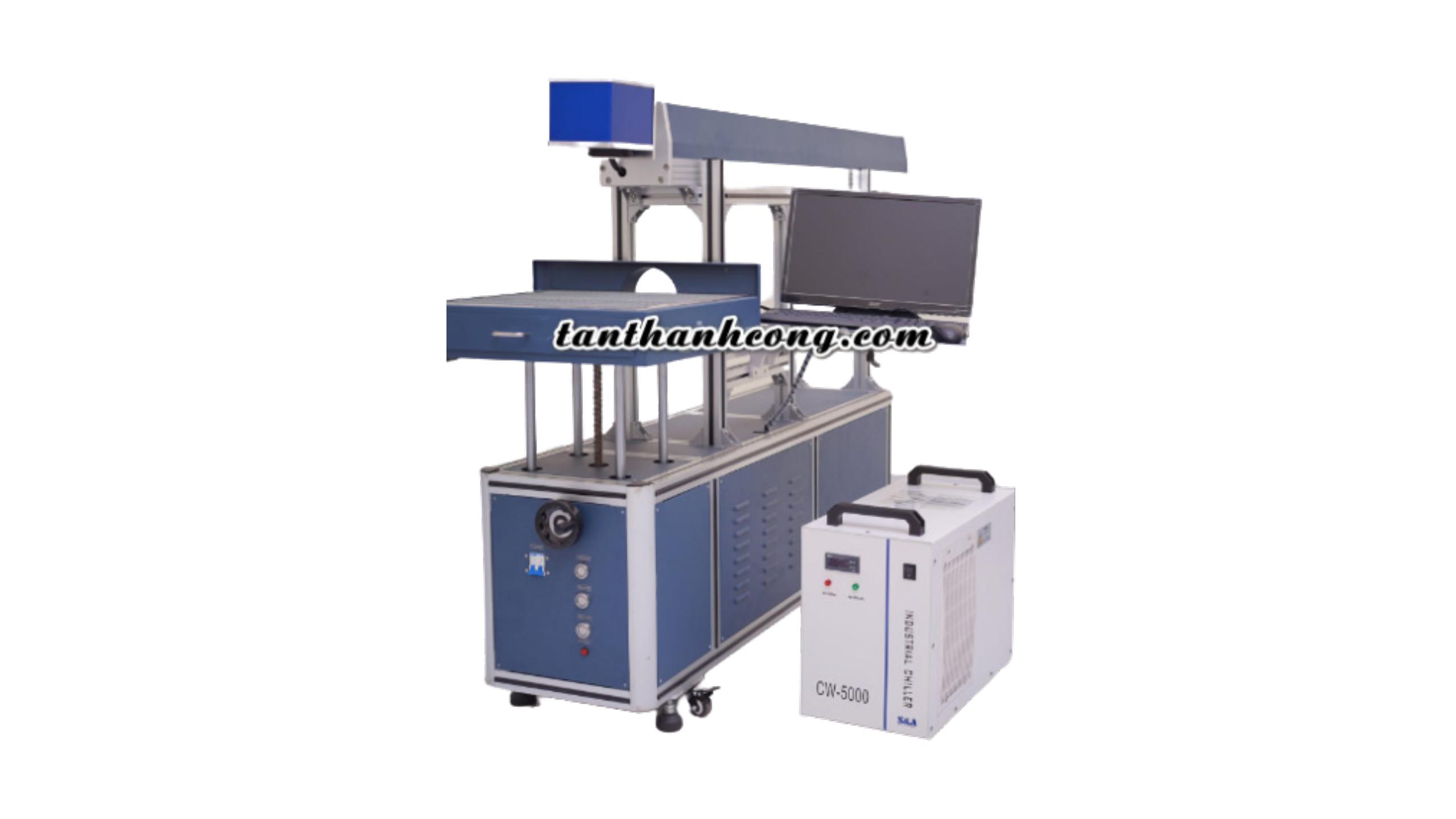 máy laser cắt thiệp siêu tốc óng reci