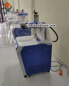 máy laser khắc kim loại màu 30w