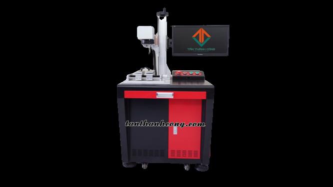 máy laser khắc kim loại màu