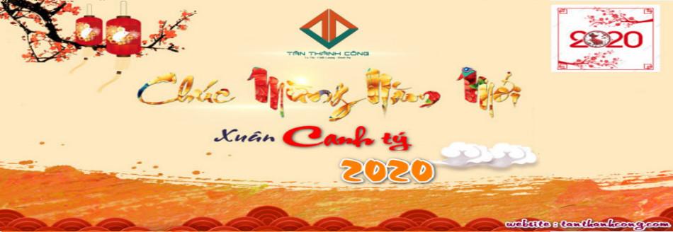 tân thành công chúc mừng năm mới